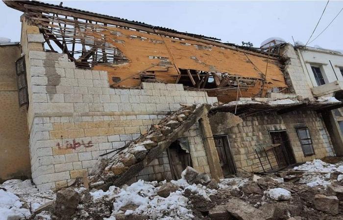 سقوط سقف دار سينما حرمون التاريخي (صورة)