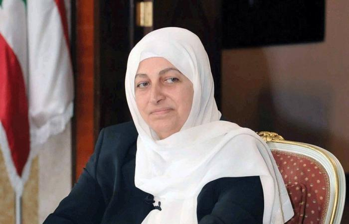 بهية الحريري التقت وفدا من مؤسسة مياه لبنان الجنوبي