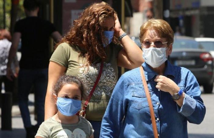 لبنان يسجّل 3463 إصابة جديدة بكورونا و61 وفاة