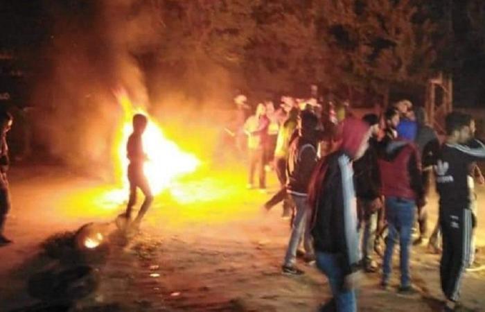 قطع طريق عام العبدة – حلبا.. فما السبب؟