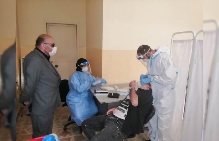 حملة فحوصات PCR في بلدة عيات