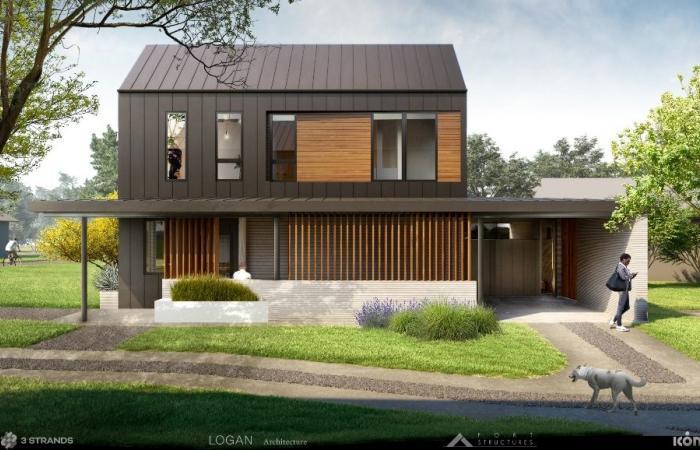 ICON تبيع منازلها المطبوعة الثلاثية الأبعاد مقابل 450 ألف دولار