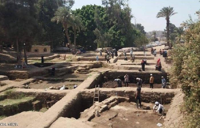في مصر.. اكتشاف مبان أثرية من القرن الخامس