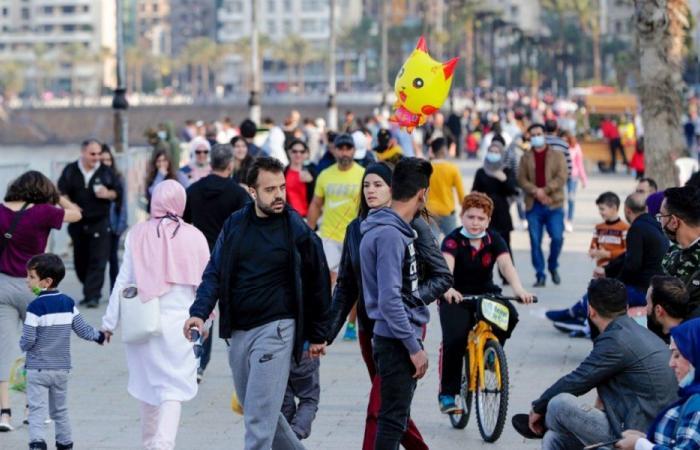 انخفاضٌ بإصابات كورونا في لبنان… و42 وفاة