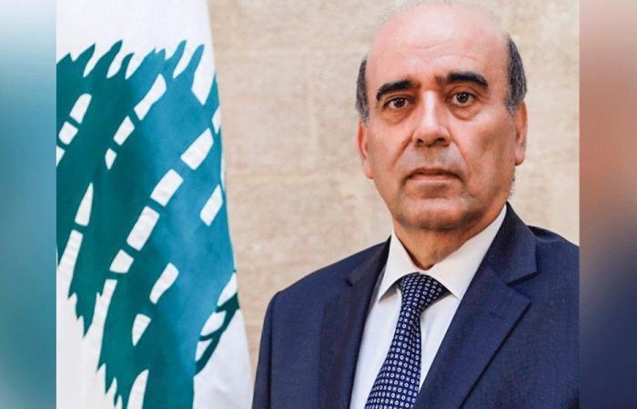 وهبه بحث مع سفير أرمينيا في العلاقات الثنائية