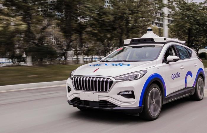بايدو تختبر تجاريًا سيارات الأجرة الذاتية القيادة في الصين