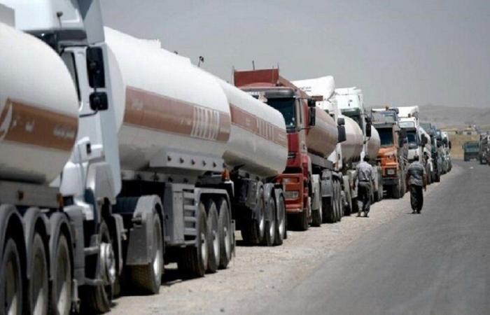 إيران ترسل صهاريج محملة بالبنزين إلى لبنان