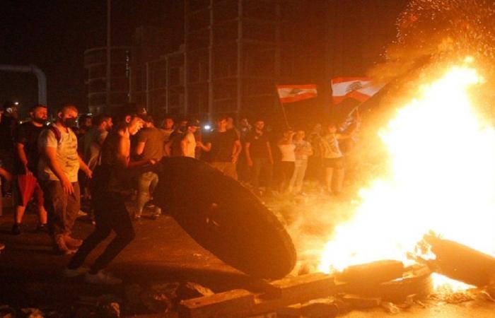 اعتصام في بعلبك احتجاجا عى ارتفاع سعر الدولار