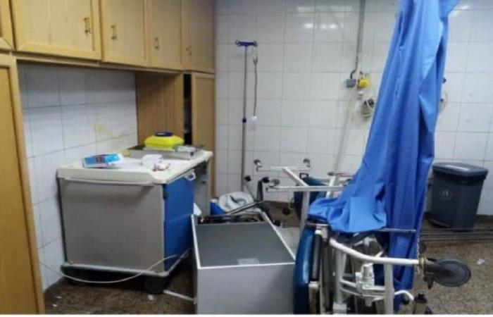 اعتداء وتحطيم قسم الطوارئ في المستشفى الإسلامي