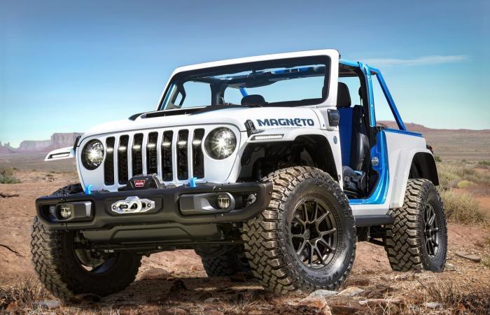 Jeep Magneto .. سيارة رانجلر كهربائية