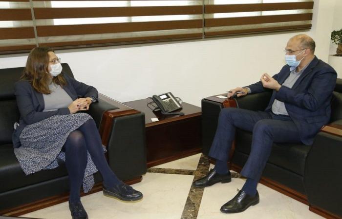 مجالات التعاون الصحية بين حسن وسفيرة الدانمارك
