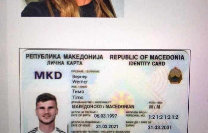 """صحيفة مقدونية تمنح فيرنر """"مواطنة فخرية"""" لإضاعته فرصة سهلة"""