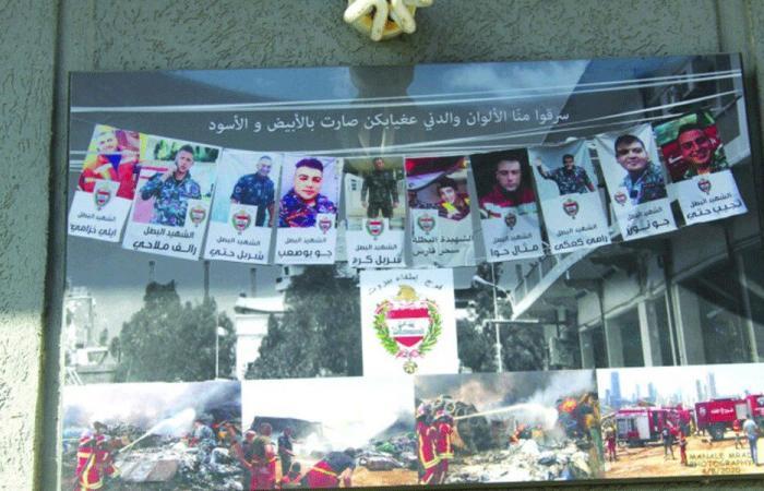 فوج إطفاء بيروت: عزيمة رغم الهزيمة