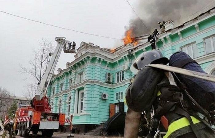 في روسيا… عملية قلب مفتوح والمستشفى يحترق!