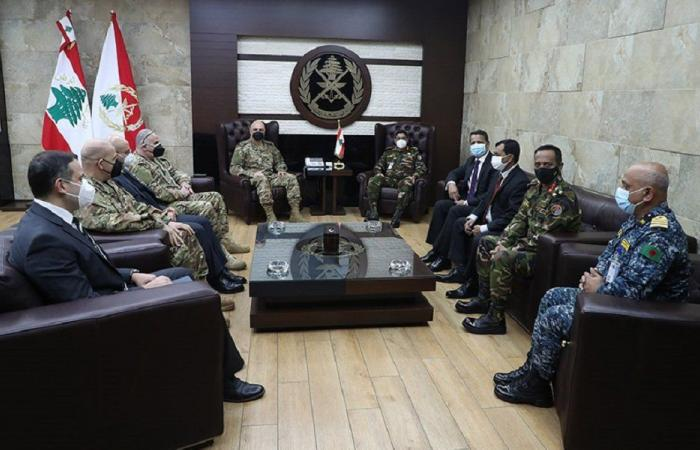 قائد الجيش التقى رئيس أركان الدفاع البنغلادشي