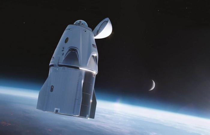 Crew Dragon تحصل على قبة زجاجية لمشاهدة الفضاء