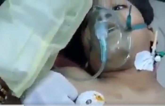 """""""انقطع النفس"""".. فيديو مؤثر لآخر كلمات لفظها طفل قتله الحوثي"""