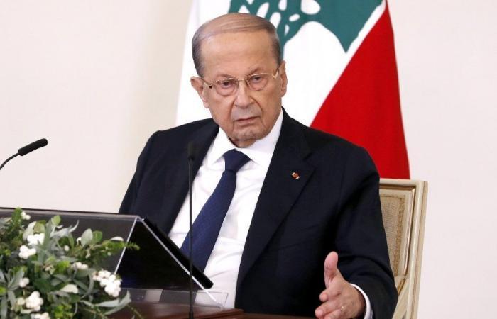 عون يحذّر باسم الشعب اللبناني!