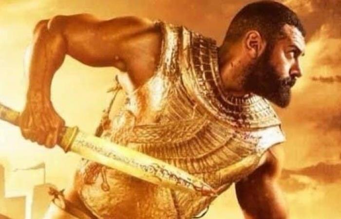 """بعد إيقاف مسلسل عمرو يوسف.. محمد رمضان يعلن تجسيد """"أحمس"""""""