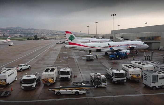 تراجع كبير بحركة الركاب في المطار