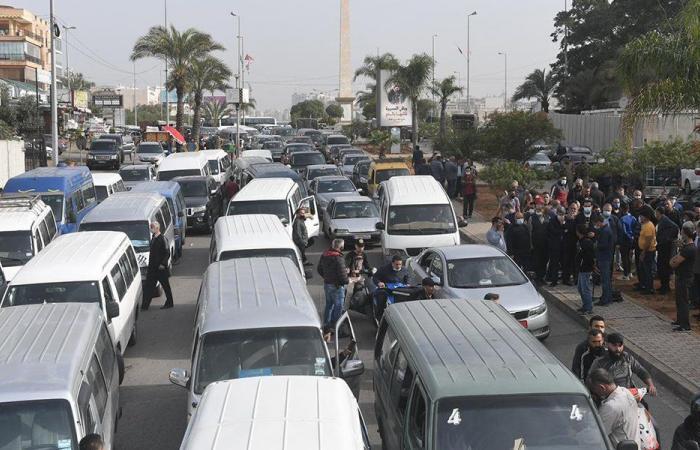 قطاع النقل البري يعتصم: لإلغاء المعاينة الميكانيكية وإلا!