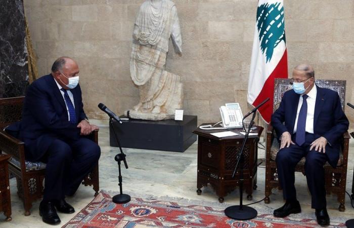 ما علاقة زيارة شكري إلى لبنان بالفرنسيين؟