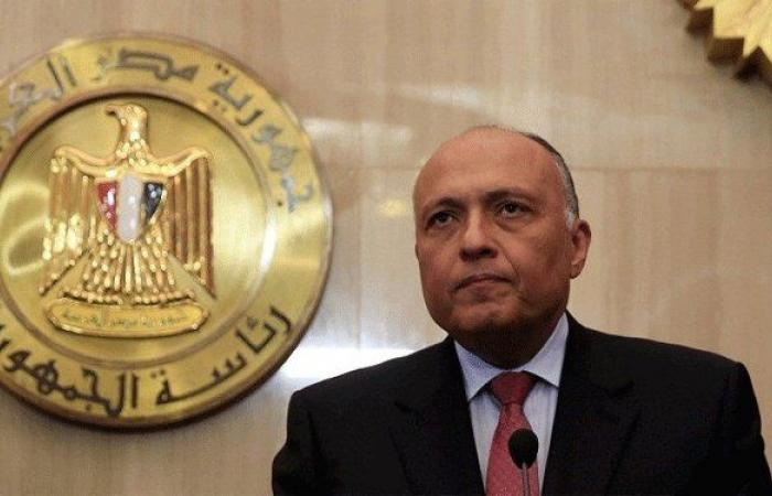 وزير الخارجية المصرية في بيروت