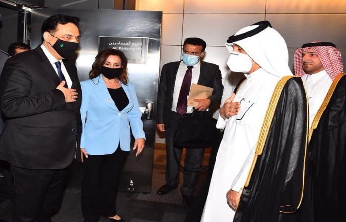 دياب يصل إلى قطر