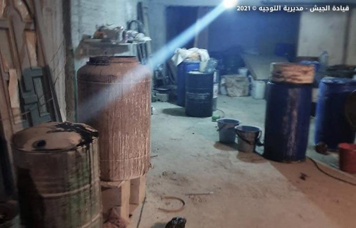 لبنان.. الجيش يضبط معملاً لتصنيع مخدر الكبتاغون في بعلبك