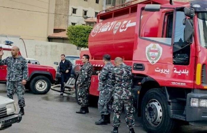 بالأرقام… مهام فوج إطفاء بيروت خلال نيسان