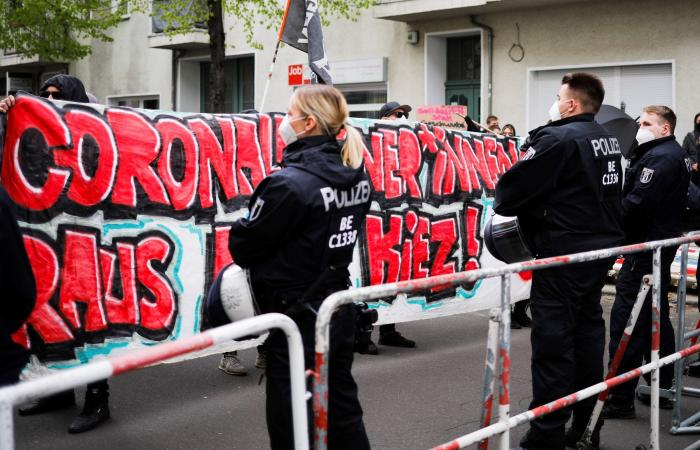 إصابة أكثر من 50 شرطياً واعتقال 250 بأعمال الشغب في برلين