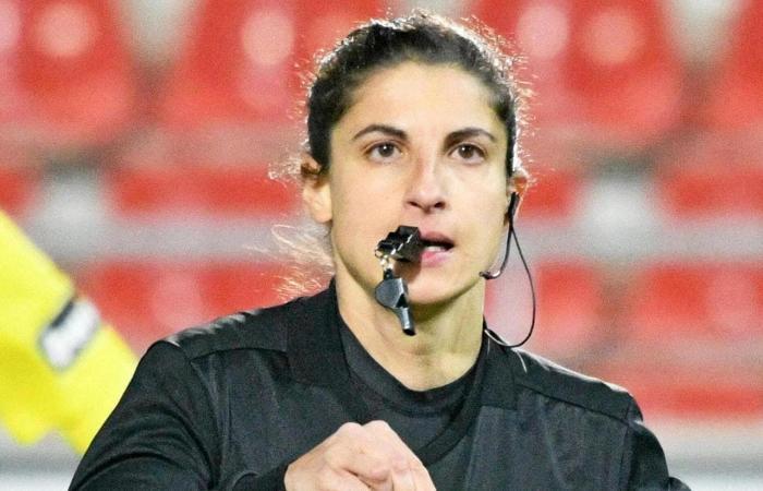 حكمة من أصول فلسطينية تدير نهائي دوري أبطال أوروبا