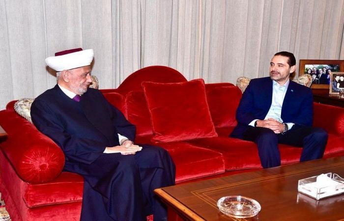 الأوضاع العامة بين الحريري ودريان