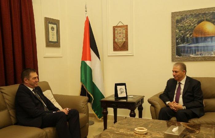 الاعتداءات الاسرائيلية في القدس بين دبور وسفير رومانيا