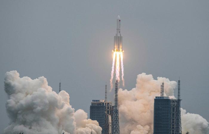 صاروخ الصين الشارد حديث العالم.. وأميركا: هذا موعد السقوط