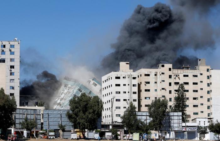 الجيش الإسرائيلي: برج الجلاء كان يضم مكاتب لمخابرات حماس