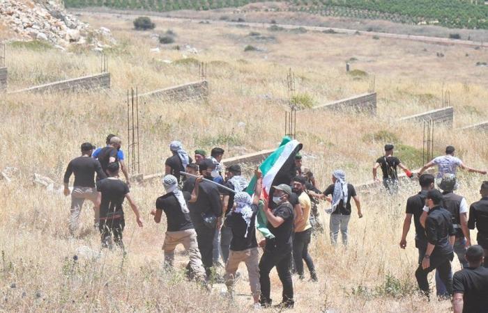 تجمع للوفود المتضامنة مع فلسطين في العديسة