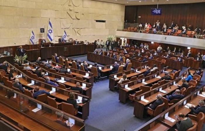 البرلمان الإسرائيلي يصوت اليوم على حكومة تنهي حكم نتنياهو