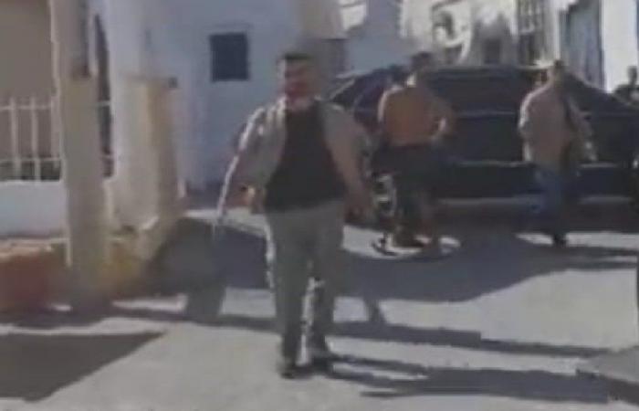 فيديو جديد يوثق لحظة الاعتداء على السيدة في البترون