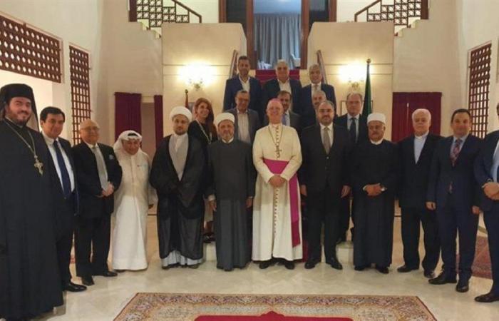 عشاء لبناني على شرف السفير البابوي في الكويت