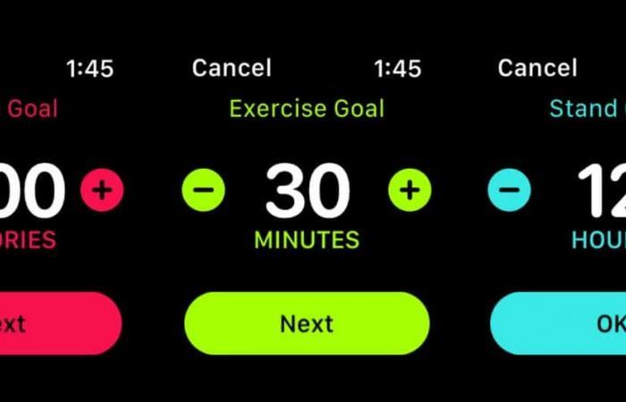 اللياقة في ساعة آبل .. طريقة وضع أهدافك الخاصة