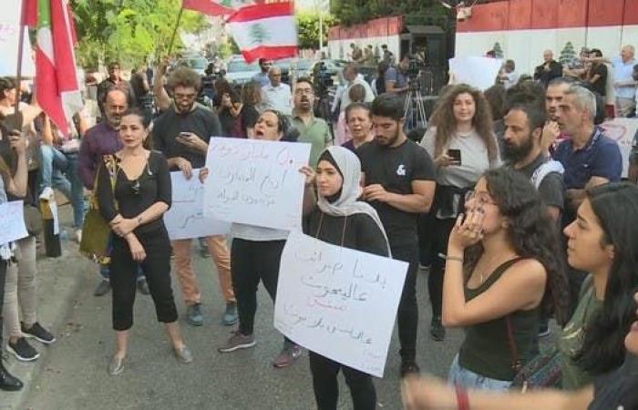 بدعوة عمالية.. إضراب عام بلبنان احتجاجاً والسلطة تشارك عنوة