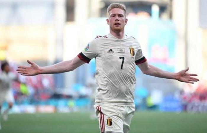 دي بروين يقلب الطاولة على الدنمارك ويقود بلجيكا إلى دور الـ 16
