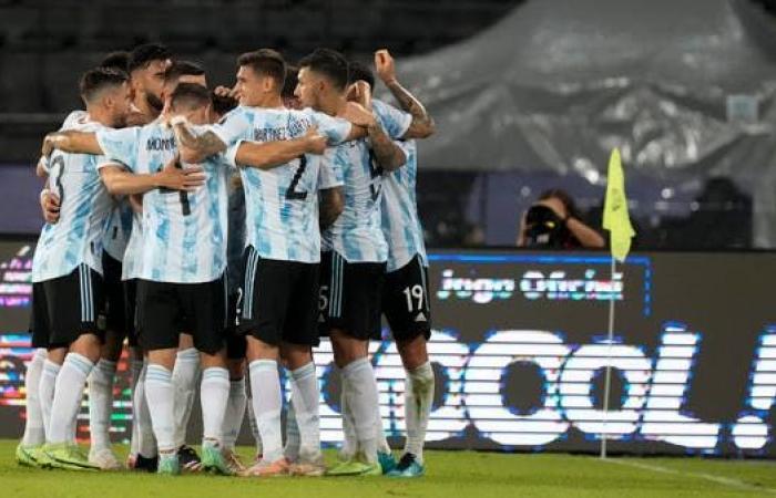 الأرجنتين تهزم أوروغواي بهدف رودريغيز