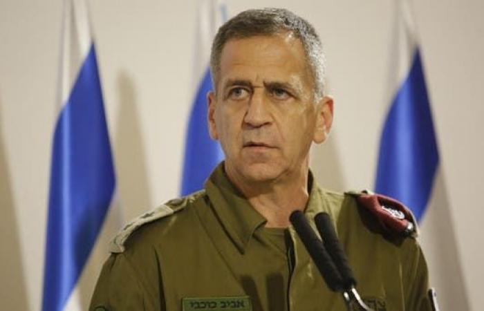 إسرائيل: مددنا ولاية رئيس الأركان لمواجهة التحديات الأمنية