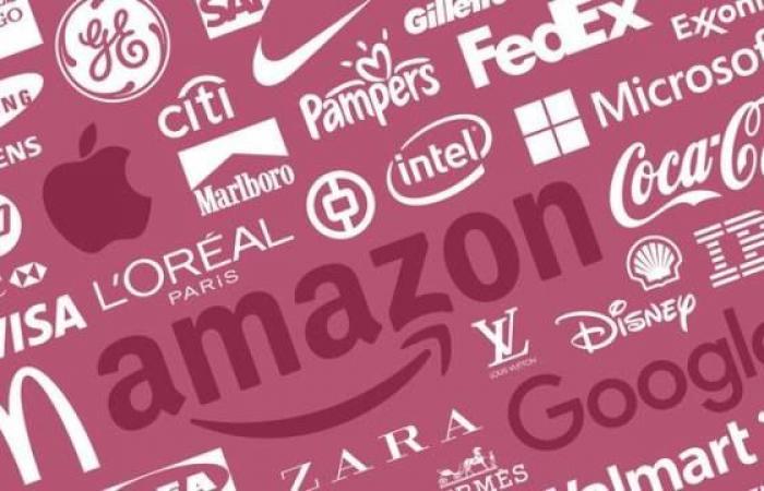 أمازون وآبل العلامات التجارية الأكثر قيمة