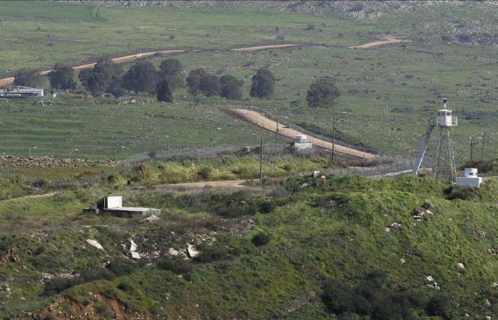 قوة اسرائيلية تقوم بأعمال صيانة غرب شبعا