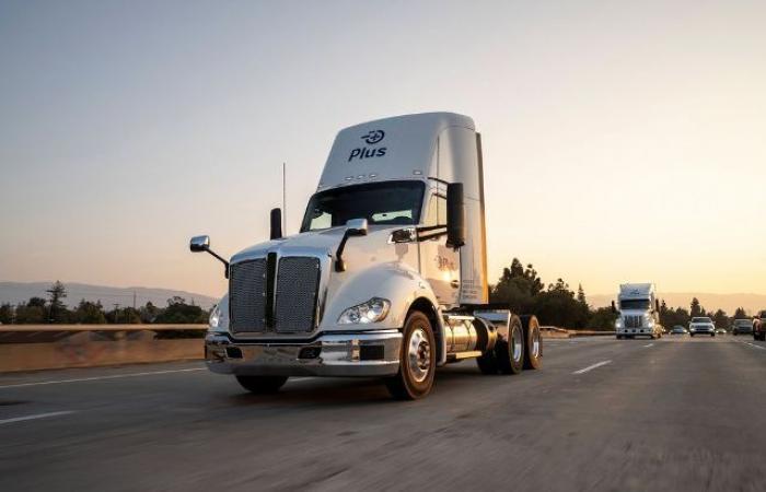 أمازون توسع اهتمامها بشاحنات النقل الروبوتية