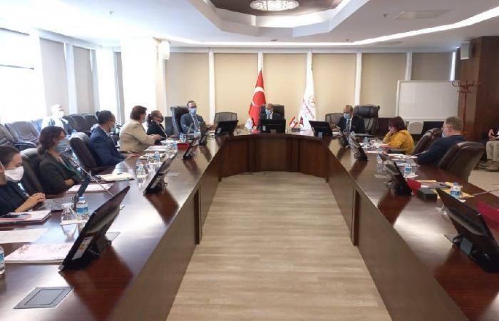 لقاءات طبية لحسن في تركيا