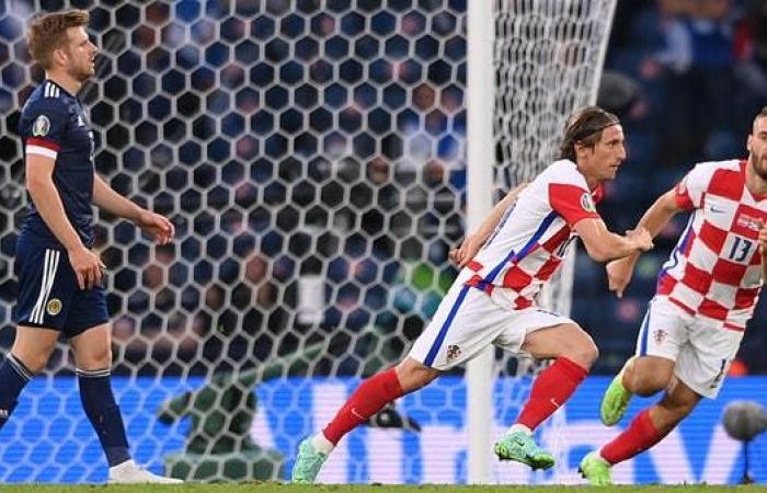 مودريتش يتألق ويرسل كرواتيا إلى ثمن نهائي بطولة أوروبا